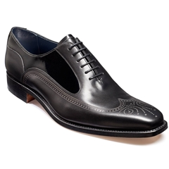 Barker Shoes Style: Harding - Black Calf / Patent