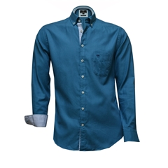 Autumn 2017 Fynch-Hatton Shirt - Gas Soft Compact Cotton