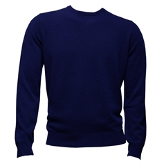 Autumn 2017 Fynch-Hatton Cashmere Crew Neck - Midnight