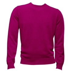 Fynch-Hatton Cashmere Crew Neck - Blossom - Size L & XXL Only