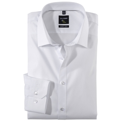 Olymp Number 6 Shirt - Super Slim - White - 0466 64 00