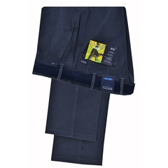 New 2018 Bruhl Cotton  Trouser - Venice B Navy -  182850 680