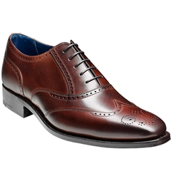Barker Shoes Style: Johnny - Dark Brown Calf - Size 12