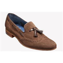 New 2018 Barker Shoes Style: Ray - Castagnia Suede/ Walnut Calf
