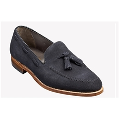 New 2018 Barker Shoes Style: Litchfield - Navy Suede