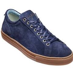 New 2018 Barker Shoes Style: Axel - Blue Suede