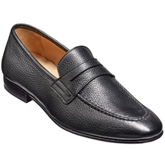 New 2018 Barker Shoes Style: Ledley - Black Deerskin