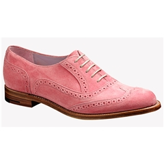 New 2018 Women's Barker Shoes Style: Freya - Pink Suede