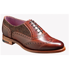 New 2018 Women's Barker Shoes Style: Freya - Walnut/ Brown Tweed