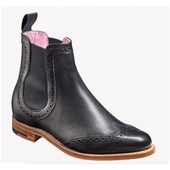 New 2018 Women's Barker Shoes Style: Sabrina - Black Calf