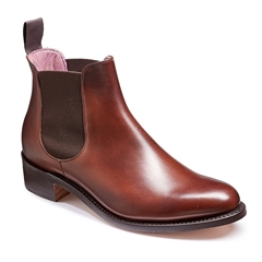 New 2018 Women's Barker Shoes Style: Violet - Walnut Calf/ Brown Elastic