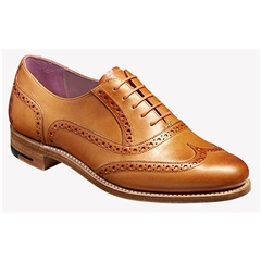 New 2018 Women's Barker Shoes Style: Santina - Orange/ Gold Hand Painted