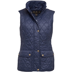 New 2018 Barbour Women's Otterburn Gilet - Navy