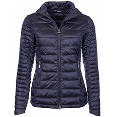 New 2018 Barbour Women's Iona Quilted Jacket - Navy