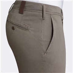 New 2018 Meyer MMX Trouser - Cotton - Taupe
