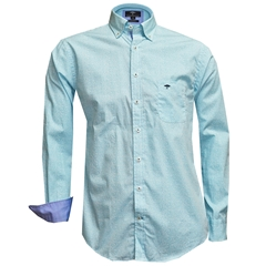 Fynch Hatton Shirt - Blue/White Floral Print
