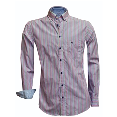 New 2018 Fynch Hatton Shirt - Multi Stripe