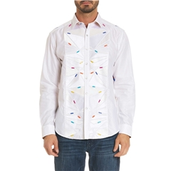 Robert Graham Limited Edition Zipperhead Shirt - White