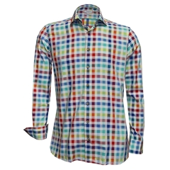 New 2018 Giordano Shirt - Multi Check