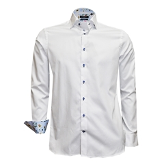 New 2018 Giordano Shirt - White - 2XL Only