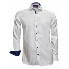 New 2018 Giordano Shirt - White Twill - Size M Only