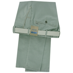 New 2018 Meyer Trouser Cotton  - Mint - New York 5001 24 - Online Exclusive