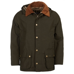 New 2018 Barbour Men's Ashby Midas Waterproof Breathable Jacket - Dark Olive