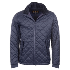 New 2018 Barbour Men's Pennel Quilted Jacket - Navy