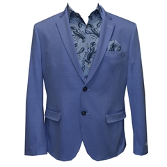 New 2018 Giordano Jacket - Plain Blue - Lobster Lining