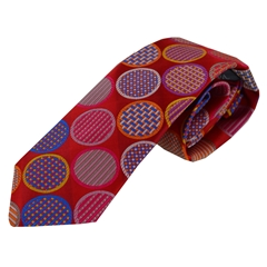 Van Buck Limited Edition - Red Spot Design Tie