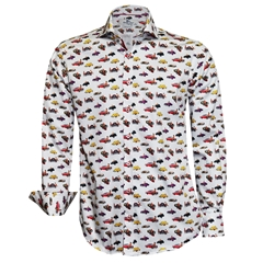 New 2018 Claudio Lugli Ladies and Cars shirt - Multi