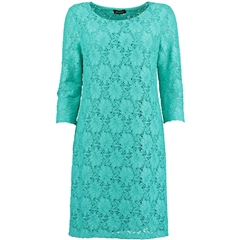 New 2018 Pomodoro Lace Dress - Turquoise