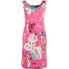 New 2018 Pomodoro Floral Dress- Pink