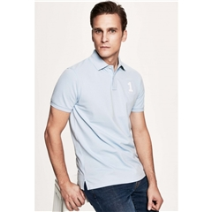 New 2018 Hackett New Classic Polo - Sky - Size XL Only