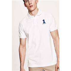 New 2018 Hackett New Classic Polo - White - Size 2XL Only