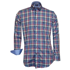 New 2018 Giordano Shirt - Multi Check - Regular Fit