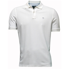New 2018 Fynch Hatton Polo Shirt- White