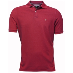 New 2018 Fynch Hatton Polo Shirt- Berry