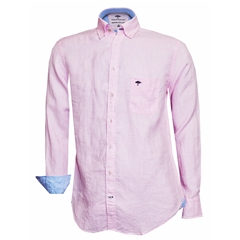New 2018 Fynch Hatton Linen Shirt - Rose