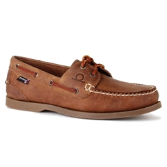 Chatham Marine Deck II G2 Boat Shoe - Walnut