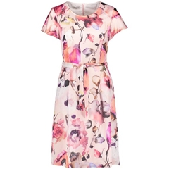 New 2018 Gerry Weber Dress with Summery Pattern- Rose