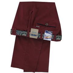 New 2018 Meyer Cotton Trouser - Wine  - Oslo 5003 56