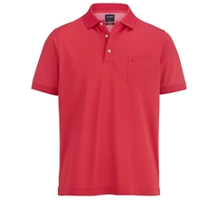 Olymp Pique Polo Shirt - Rose