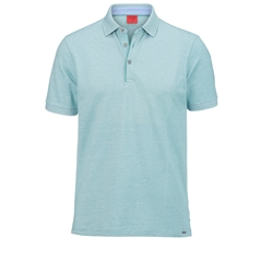 Olymp Polo - Body Fit - Textured  Light Green