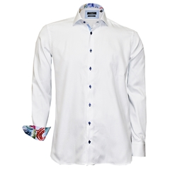 New 2018 Giordano Shirt - White Twill
