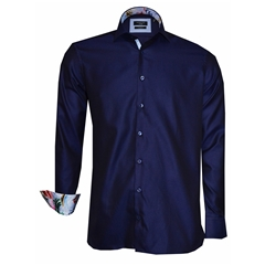 New 2018 Giordano Shirt - Navy Blue Twill