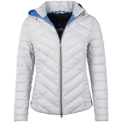 New 2018 Barbour Pentle Quilted Jacket - Ice White
