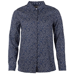 New 2018 Barbour Hunstanton Relaxed Fit Shirt - Navy