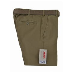 Meyer Shorts Cotton Fawn Twill