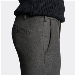 Autumn 2018 Meyer MMX Trouser - Wool & Cashmere - Mid-Grey